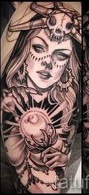 фото тату ведьма для статьи про значение татуировки ведьма – tatufoto.ru – 23