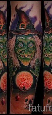 фото тату ведьма для статьи про значение татуировки ведьма – tatufoto.ru – 26