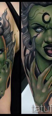 фото тату ведьма для статьи про значение татуировки ведьма – tatufoto.ru – 27