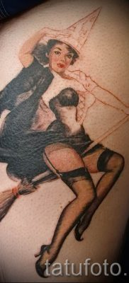 фото тату ведьма для статьи про значение татуировки ведьма – tatufoto.ru – 37
