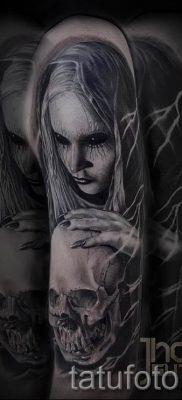 фото тату ведьма для статьи про значение татуировки ведьма – tatufoto.ru – 40
