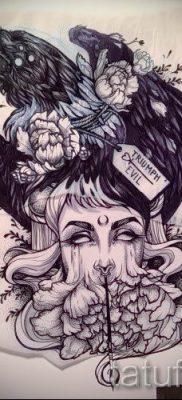 фото тату ведьма для статьи про значение татуировки ведьма – tatufoto.ru – 47