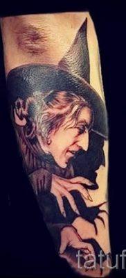 фото тату ведьма для статьи про значение татуировки ведьма – tatufoto.ru – 51