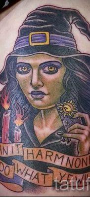 фото тату ведьма для статьи про значение татуировки ведьма – tatufoto.ru – 53