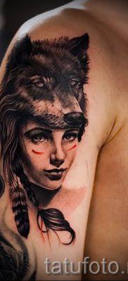 фото тату волчица для статьи про значение татуировки волчица – tatufoto.ru – 11