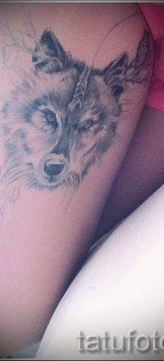 фото тату волчица для статьи про значение татуировки волчица – tatufoto.ru – 17