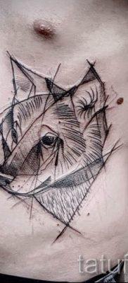 фото тату волчица для статьи про значение татуировки волчица – tatufoto.ru – 24