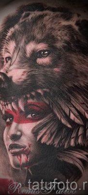 фото тату волчица для статьи про значение татуировки волчица – tatufoto.ru – 25