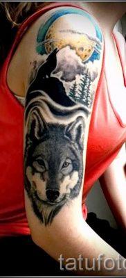 фото тату волчица для статьи про значение татуировки волчица – tatufoto.ru – 28
