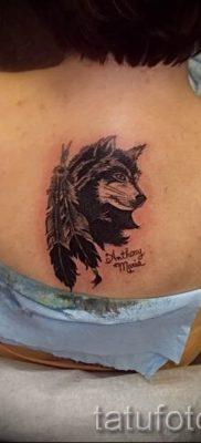 фото тату волчица для статьи про значение татуировки волчица – tatufoto.ru – 31