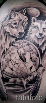 фото тату волчица для статьи про значение татуировки волчица – tatufoto.ru – 39