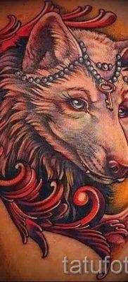 фото тату волчица для статьи про значение татуировки волчица – tatufoto.ru – 42