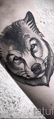 фото тату волчица для статьи про значение татуировки волчица – tatufoto.ru – 43