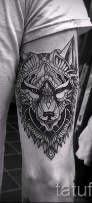 фото тату волчица для статьи про значение татуировки волчица – tatufoto.ru – 44
