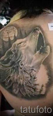 фото тату воющий волк для статьи про значение тату воющий волк – tatufoto.ru – 1