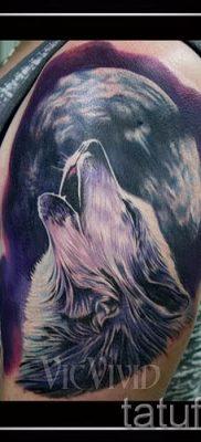 фото тату воющий волк для статьи про значение тату воющий волк – tatufoto.ru – 3