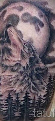 фото тату воющий волк для статьи про значение тату воющий волк – tatufoto.ru – 4
