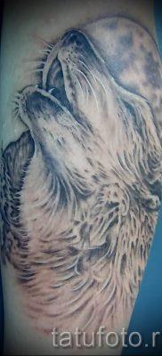 фото тату воющий волк для статьи про значение тату воющий волк – tatufoto.ru – 10