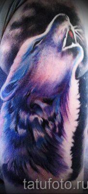 фото тату воющий волк для статьи про значение тату воющий волк – tatufoto.ru – 12