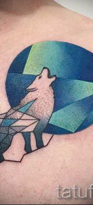 фото тату воющий волк для статьи про значение тату воющий волк – tatufoto.ru – 17
