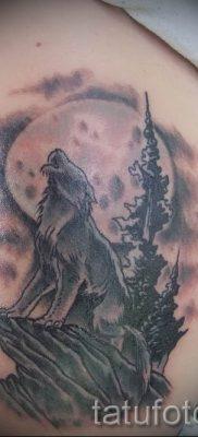 фото тату воющий волк для статьи про значение тату воющий волк – tatufoto.ru – 18