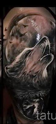 фото тату воющий волк для статьи про значение тату воющий волк – tatufoto.ru – 21