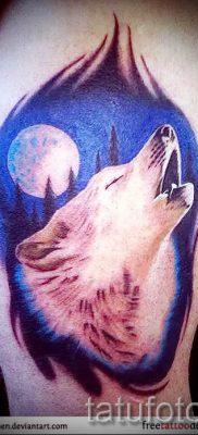 фото тату воющий волк для статьи про значение тату воющий волк – tatufoto.ru – 24