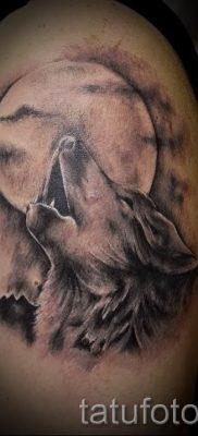 фото тату воющий волк для статьи про значение тату воющий волк – tatufoto.ru – 25