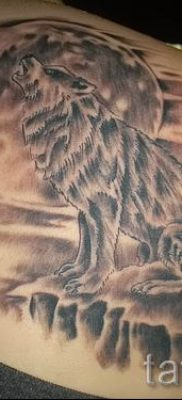 фото тату воющий волк для статьи про значение тату воющий волк – tatufoto.ru – 26