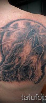 фото тату воющий волк для статьи про значение тату воющий волк – tatufoto.ru – 31