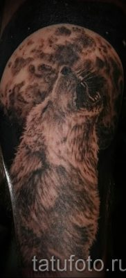 фото тату воющий волк для статьи про значение тату воющий волк – tatufoto.ru – 33