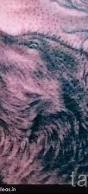 фото тату воющий волк для статьи про значение тату воющий волк – tatufoto.ru – 40
