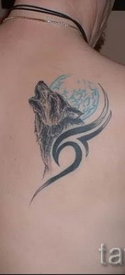 фото тату воющий волк для статьи про значение тату воющий волк – tatufoto.ru – 51