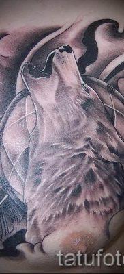 фото тату воющий волк для статьи про значение тату воющий волк – tatufoto.ru – 53