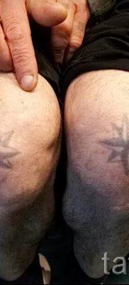 фото тату звезды на коленях для статьи про значение – tatufoto.ru – 13