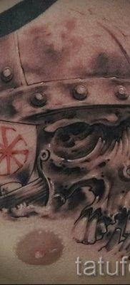 фото тату коловрат для статьи про значение татуировки коловрат – tatufoto.ru – 7