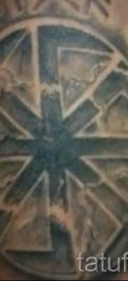 фото тату коловрат для статьи про значение татуировки коловрат – tatufoto.ru – 15