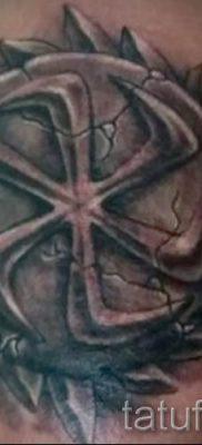 фото тату коловрат для статьи про значение татуировки коловрат – tatufoto.ru – 17