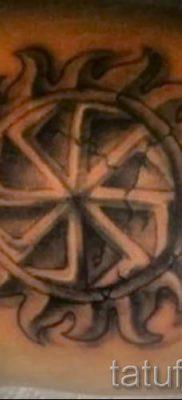 фото тату коловрат для статьи про значение татуировки коловрат – tatufoto.ru – 21