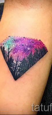 фото тату космос для статьи про значение космических татуировок – tatufoto.ru – 4