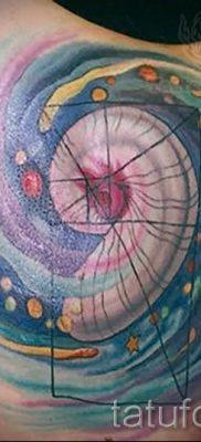 фото тату космос для статьи про значение космических татуировок – tatufoto.ru – 20