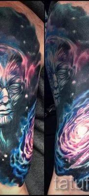 фото тату космос для статьи про значение космических татуировок – tatufoto.ru – 44