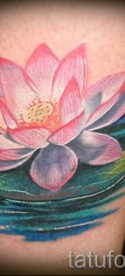 фото тату кувшинка для статьи про значение татуировки с кувшинкой – tatufoto.ru – 5