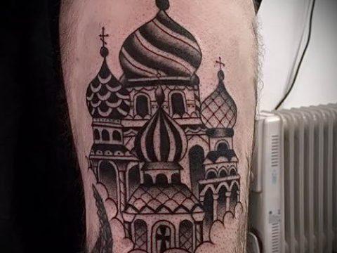 фото тату купола для статьи про значение татуировки купола - tatufoto.ru - 35
