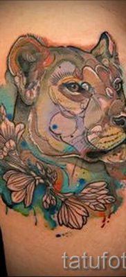 фото тату львица для статьи про значение татуировки львица – tatufoto.ru – 5