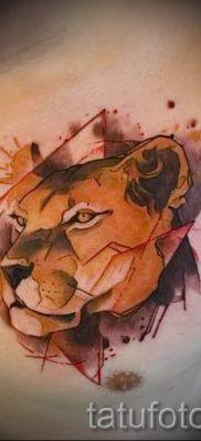 фото тату львица для статьи про значение татуировки львица – tatufoto.ru – 9