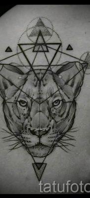 фото тату львица для статьи про значение татуировки львица – tatufoto.ru – 10