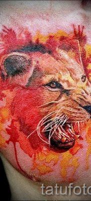 фото тату львица для статьи про значение татуировки львица – tatufoto.ru – 11