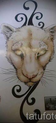 фото тату львица для статьи про значение татуировки львица – tatufoto.ru – 15