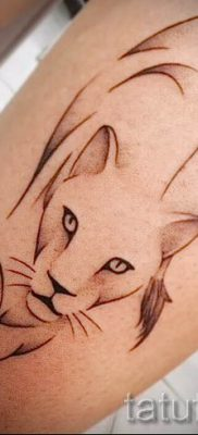 фото тату львица для статьи про значение татуировки львица – tatufoto.ru – 29